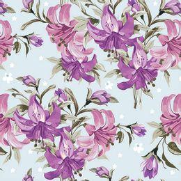 papel-de-parede-floral-botoes-de-flores-azul-claro
