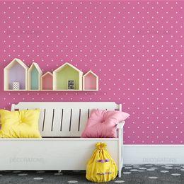 papel-de-parede-poa-bolinhas-15cm-pink-1