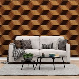 papel-de-parede-madeira-abstrato-tacos-marrom-1