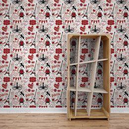 papel-de-parede-paris-lamour-vermelho