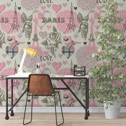 papel-de-parede-paris-rosas-passaros-palha-1