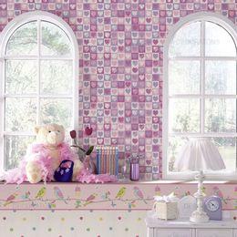 papel-de-parede-quadrados-com-coracao-lilas
