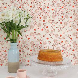 papel-de-parede-ramos-de-flores-e-coracoes-bege