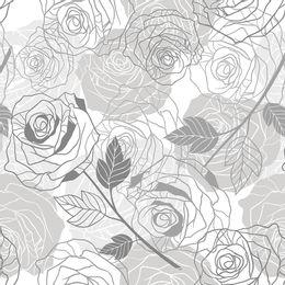 Papel-de-Parede-Rosas-Delicadas-Cinza-Floral-Rosas-FROSAS41