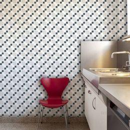 papel-de-parede-pastilhas-cinza-quadriculado-4-x-4-cm
