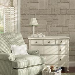 papel-de-parede-pedras-encaixe-retangular-cinza