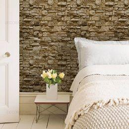 papel-de-parede-pedras-em-filetes-marrom-envelhecido