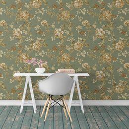 papel-de-parede-floral-vintage-sepia