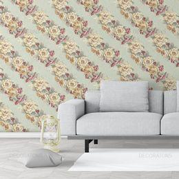 papel-de-parede-listrado-em-ramos-de-rosas-verde-claro