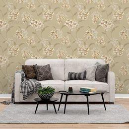 papel-de-parede-floral-tom-sobre-tom-suave-bege