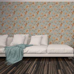 papel-de-parede-floral-moderno-com-ramos-cor-azul-acinzentado