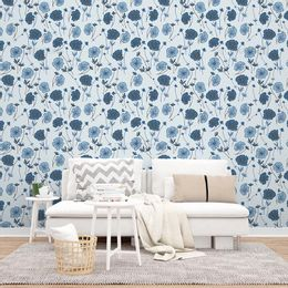 papel-de-parede-flores-e-ramos-tons-azul-acinzentado