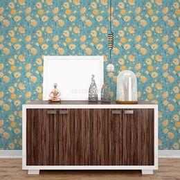papel-de-parede-floral-amarelo-suave