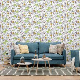 papel-de-parede-floral-desenhado-moderno-branco