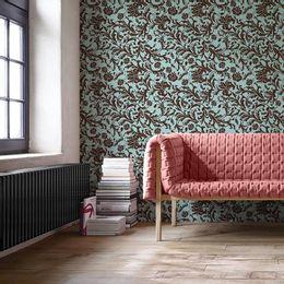 papel-de-parede-vintage-arabesco-azul-turquesa