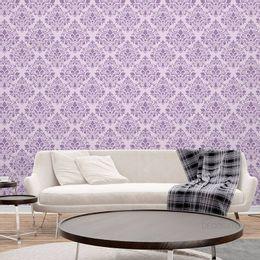 papel-de-parede-vintage-lilas