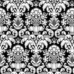 papel-de-parede-vintage-branco-e-preto