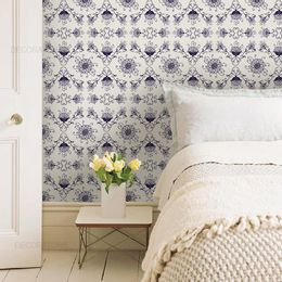 papel-de-parede-vintage-arabesco-lilas