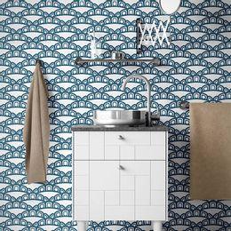 papel-de-parede-vintage-azul-cobalto-com-fundo-branco