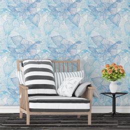 Papel-de-Parede-Floral-em-Riscos-Azul-Claro-pri104-1