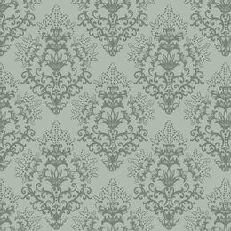 papel-de-parede-vintage-verde-acinzentado