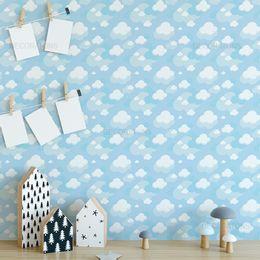 papel-de-parede-nuvens-infantil-sobreposta-azul-claro