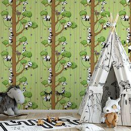 papel-de-parede-pandas-verde-claro