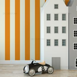papel-de-parede-listrado-vertical-laranja