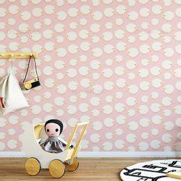 papel-de-parede-ovelhas-nuvens-rosa-claro