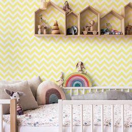 papel-de-parede-chevron-amarelo-claro