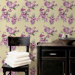papel-de-parede-floral-bege-vintage-bege