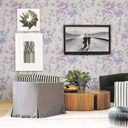 papel-de-parede-floral-rosas-moderno-cinza