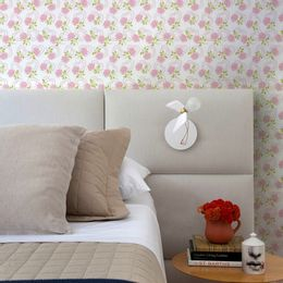papel-de-parede-rosas-delicadas-vintage-coracao-branco