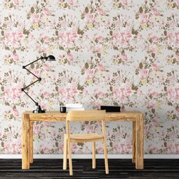 papel-de-parede-emaranhados-de-rosas-e-flores-cinza