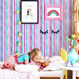 papel-de-parede-listrado-pincel-tons-rosa-e-azul
