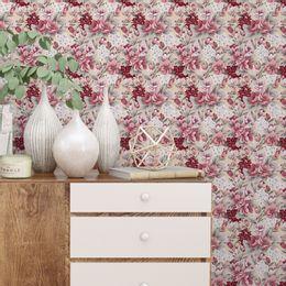 papel-de-parede-rosas-avermelhadas