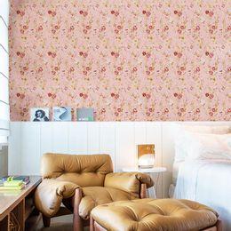 papel-de-parede-mini-rosas-delicadas-cor-rosa-claro