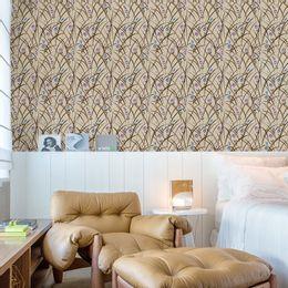 papel-de-parede-petalas-ramos-e-mini-flores-champanhe