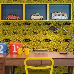 papel-de-parede-skate-street-amarelo