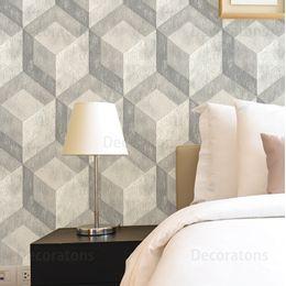 papel-de-parede-geometrico-cinza-3D