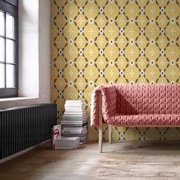 papel-de-parede-classico-abstrato-anos-70-mostarda1