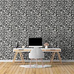 papel-de-parede-abstrato-moderno-splash-preto1