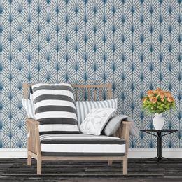 papel-de-parede-abstrato-moderno-leque-azul-royal1
