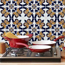 papel-de-parede-azulejo-portugues-com-flores-amarelo-ouro-velho-azul-marinho1