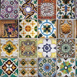 papel-de-parede-azulejo-portugues-antigo-amarelo-ouro-colorido