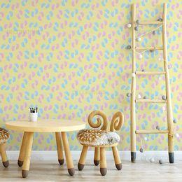 papel-de-parede-pezinhos-amarelo-claro1
