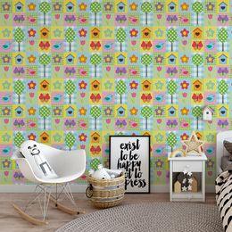 papel-de-parede-patchwork-borboleta-passarinhos-colorido1