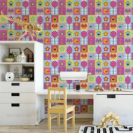 papel-de-parede-patchwork-borboleta-passarinhos-colorido2-2