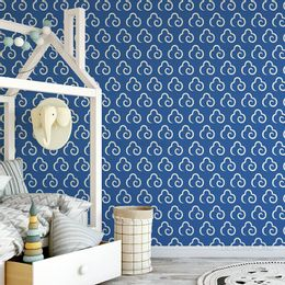papel-de-parede-nuvem-estilizada-azul-cobalto1