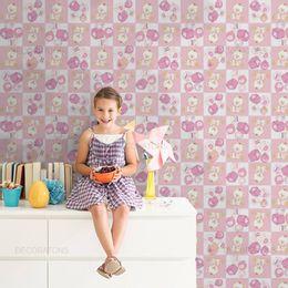 papel-de-parede-ursinhos-carinhosos-rosa-claro1